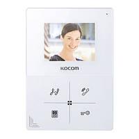 Видеодомофон цветной KOCOM KCV-401EV
