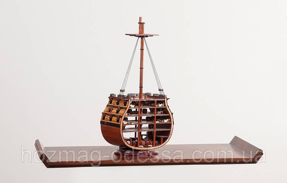 "Корабль ""Victory Crоss section"", 26х67см"