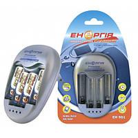 ЗЭУ Энергия EH 901 Премиум, 1-4 АА, ААA, dVконтроль, dTконтроль, дозаряд, 500mAh