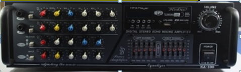 Усилитель звука AMP KA300 FM USB МР3 плеер 2016