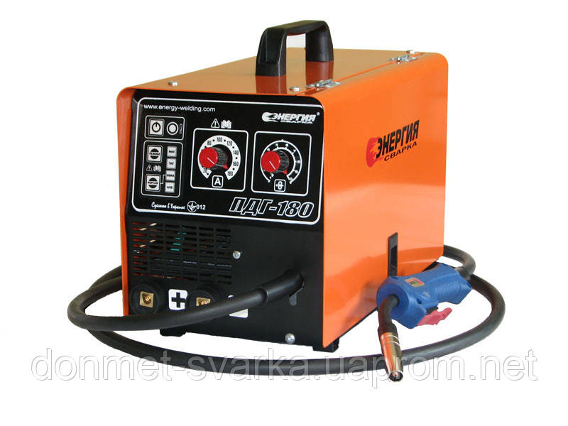 Инверторный сварочный аппарат полуавтомат ПДГУ-180  Энергия