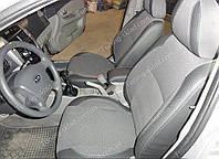 Чехлы на сиденья Киа Серато 1 (чехлы из экокожи Kia Cerato 1 стиль Premium)