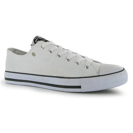 Кеды Dunlop Mens Canvas Low Top Trainers, фото 2
