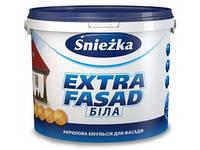 Краска Снежка Экстра Фасад - 10 л (14 кг)