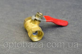Кран клапан шариковый (резьба внутренняя) для компрессоров, фото 2
