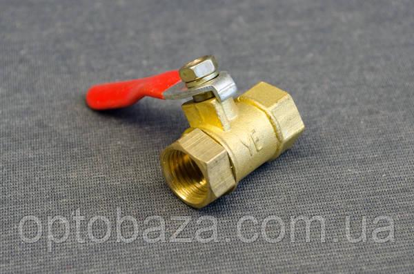 Кран клапан шариковый (резьба внутренняя) для компрессоров