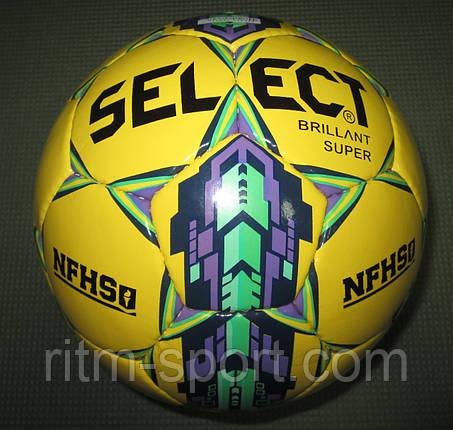 Мяч футбольный Select Brillant SUPER №5, фото 2