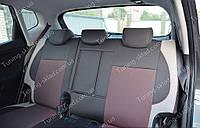 Чехлы на сиденья Киа Венга (чехлы из экокожи Kia Venga стиль Premium)