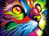 Раскраски по номерам: радужные животные Ваю Ромдони