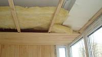 Утепление  потолка  в доме минеральной ватой (минватой)