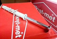 Дюбель распорный с шурупом с потайной головкой KPS Wkret-met 10x80, фото 1