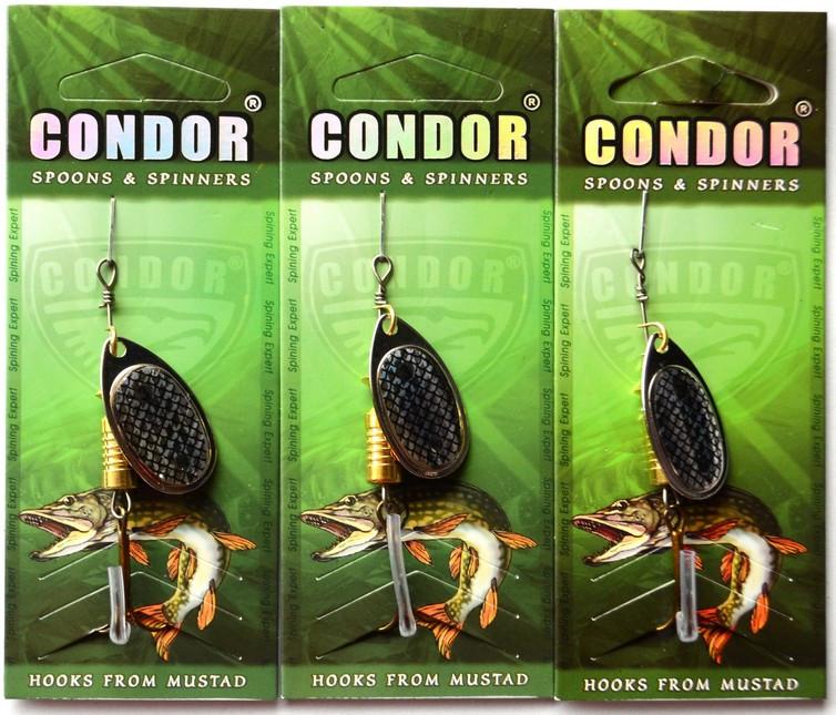 Блесна-вертушка Кондор, цвет 119, 8гр