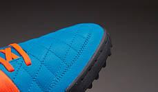 Сороконожки Nike Tiempo Genio Leather TF 631284-418 найк темпо (Оригинал), фото 2