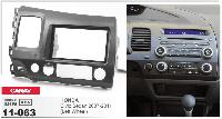 2-DIN переходная рамка HONDA Civic Sedan 2007-2011 (Left Wheel), CARAV 11-063