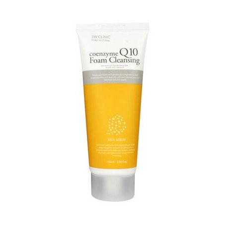 Пенка для умывания 3W CLINIC Coenzyme Q10 Cleansing Foam 100ml