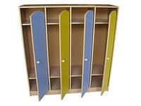 Шкаф для одежды детский 4 секции