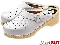 Сабо кожаные (медицинская обувь) BMDREDZPA W