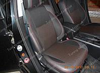 Чехлы на сиденья Мазда 6 GH (чехлы из экокожи Mazda 6 GH стиль Premium)