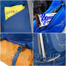 Рюкзак мужской OSPREY XENITH 88 (синий, серый), фото 3