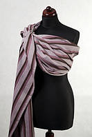 Ringsling - 100% Cotton - Broken Twill Weave - Stuffed Chocolate