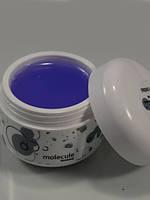 Гель для наращивания  прозрачный универсальный Molekula VIOLET 30 ml