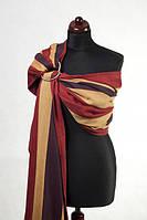 Ringsling - 100% Cotton - Broken Twill Weave - Burgundy