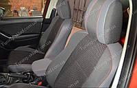 Чехлы на сиденья Мазда СХ 5 (чехлы из экокожи Mazda CX 5 стиль Premium)