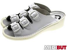 Шлепанцы с противоскользящей подошвой (медицинская обувь) BMKLA3PASSP W