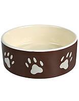 TRIXIE Миска керамическая для собаки 0,8л