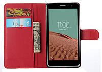 Чехол-бумажник для LG Max X155