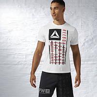 Футболка мужская Reebok Fitness Company Flag Graphic Tee AJ2704