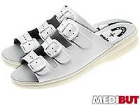 Шлепанцы женские кожаные (мед обувь) BMKLA3PAS W