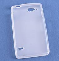 Чехол накладка для Sony Xperia Go ST27i белый