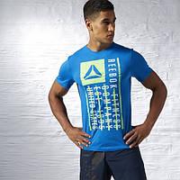 Футболка мужская Reebok Fitness Company Flag Graphic Tee AJ2705