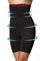 Трусы утягивающие, Корректирующие трусики шорты с высокой талией Mitex Elite 6 silicon