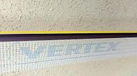 Профиль примыкания коричневого цвета с армирующей сеткой и резиновой манжетой 2.5 м.п.