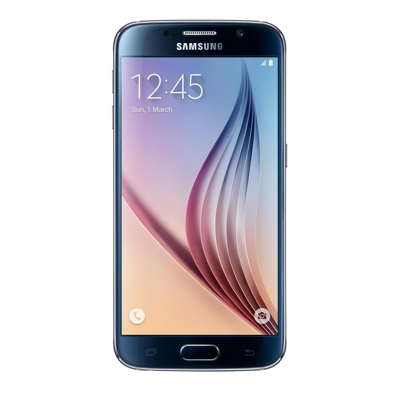Смартфон Samsung G920F Galaxy S6 32GB (Black Sapphire)