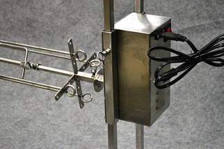 Вертел с электроприводом, длина 100см , фото 2