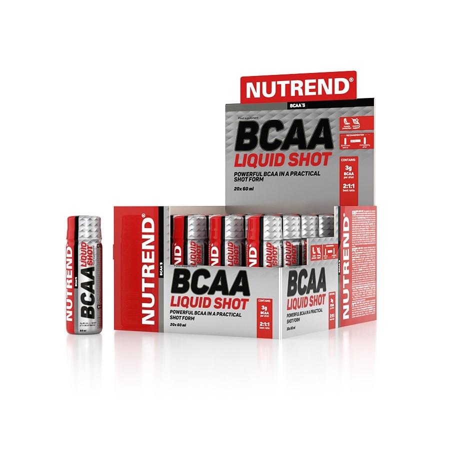 Аминокислоты BCAA Liquid Shot (20 x 60 мл) Nutrend