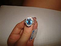 Шикарное кольцо с крупным камнем