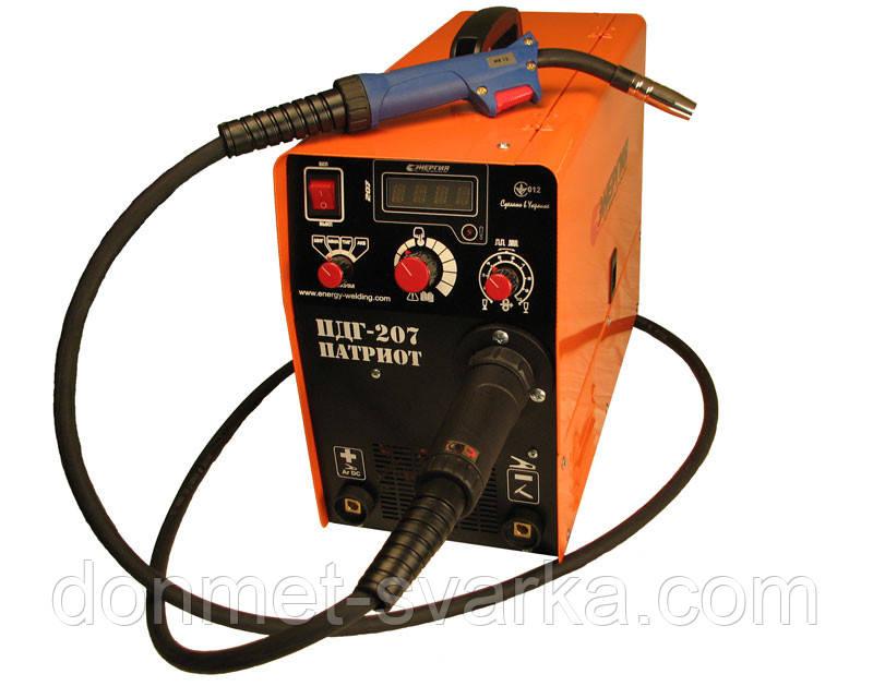 Инверторный сварочный аппарат полуавтомат ПДГУ-207 Патриот  Энергия