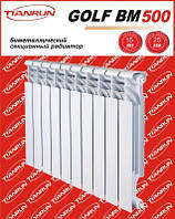 Биметаллический радиатор GOLF Tianrun, фото 1
