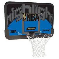 """Баскетбольный щит Spalding NBA Highlight 44"""" Composite (80453CN)"""