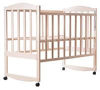 Кроватка детская Зайченок не лакированная, фото 1