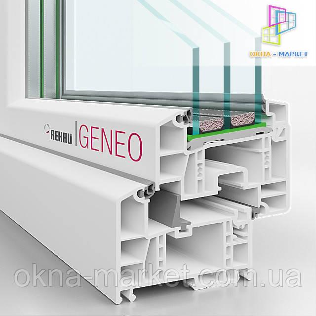 Качественные окна ПВХ Rehau Geneo (044) 227-93-49