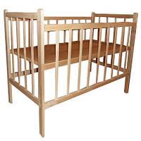 Кроватка детская Кф простая без лака