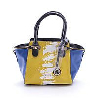 Сумка Velina Fabbiano желтая с синим