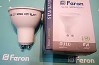 Светодиодная лампа Feron LB-716 GU-10 6W 4000K