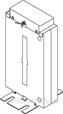 Габаритные, установочные и присоединительные размеры трансформаторов тока ТШ-0,66-1