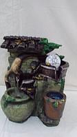 Фонтан настольный декоративный  «Драгоценные кувшины» размер 27*16*23